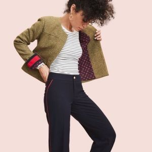 A New Day for 🎯 Olive & Gold Cropped Blazer